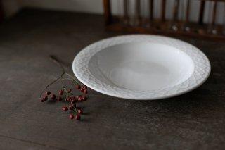 クイストゴー Cordial Palet(コーディアル パレット)ホワイト 21cm 深皿 no.2