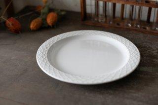 クイストゴー Cordial Palet(コーディアル パレット)ホワイト 23.5cm プレート