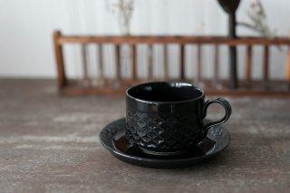 クイストゴー Cordial Palet(コーディアル パレット)ブラック カップ&ソーサー no.3