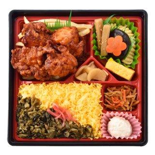 桜島鶏のから揚げ御膳