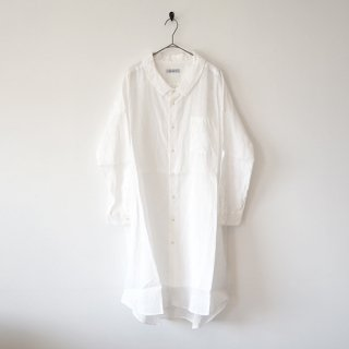 <img class='new_mark_img1' src='https://img.shop-pro.jp/img/new/icons20.gif' style='border:none;display:inline;margin:0px;padding:0px;width:auto;' />【Ordinary Fits】 LONG BARBER SHIRT WHITE