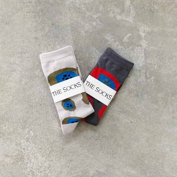 【THESOCKS】 POPPY 2color