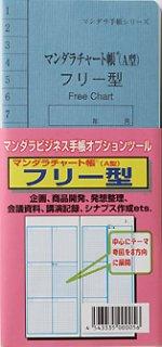 マンダラチャート帳フリー型