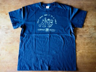 コンピラ・マル・ワインズ・オリジナル・Tシャツ・Mサイズ (ネイビー)