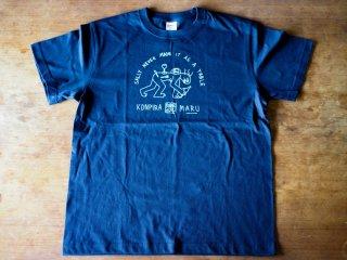 コンピラ・マル・ワインズ・オリジナル・Tシャツ・Lサイズ (ネイビー)