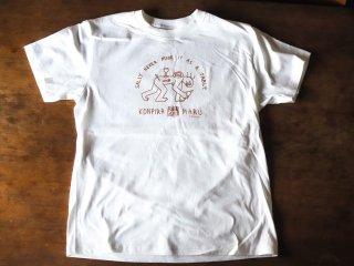 コンピラ・マル・ワインズ・オリジナル・Tシャツ・Lサイズ (ホワイト)