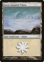 冠雪の平地/Snow-Covered Plains(CSP)【英語】