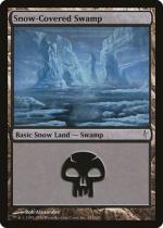 冠雪の沼/Snow-Covered Swamp(CSP)【英語】