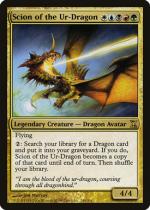 始祖ドラゴンの末裔/Scion of the Ur-Dragon(TSP)【英語】