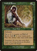 根の壁/Wall of Roots(TSB)【英語】