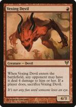 苛立たしい小悪魔/Vexing Devil(AVR)【英語】