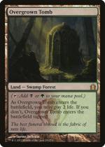草むした墓/Overgrown Tomb(RTR)【英語】