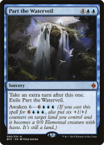 水の帳の分離/Part the Waterveil(BFZ)【英語】