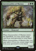 ムラーサの緑守り/Greenwarden of Murasa(BFZ)【英語】