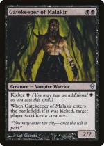 マラキールの門番/Gatekeeper of Malakir(ZEN)【英語】