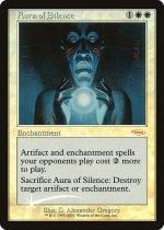 沈黙のオーラ/Aura of Silence(プロモ)【英語FOIL】