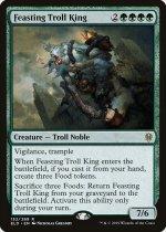 貪るトロールの王/Feasting Troll King(ELD)【英語】
