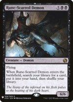 ルーン傷の悪魔/Rune-Scarred Demon(MB1)【英語】