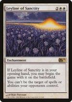 神聖の力線/Leyline of Sanctity(M11)【英語】