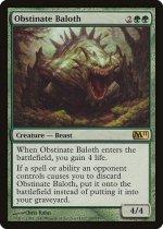 強情なベイロス/Obstinate Baloth(M11)【英語】