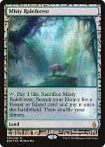 霧深い雨林/Misty Rainforest(EXP)【英語】