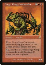 包囲攻撃の司令官/Siege-Gang Commander(SCG)【英語】