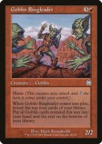 ゴブリンの首謀者/Goblin Ringleader(APC)【英語】