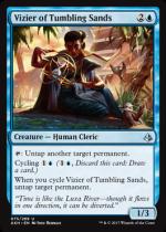 砂時計の侍臣/Vizier of Tumbling Sands(AKH)【英語】