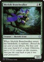 マーフォークの枝渡り/Merfolk Branchwalker(XLN)【英語】