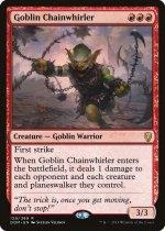 ゴブリンの鎖回し/Goblin Chainwhirler(DOM)【英語】