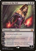 ヴェールのリリアナ/Liliana of the Veil(MM3)【英語】