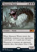 虐殺のワーム/Massacre Wurm(M21)【英語FOIL】