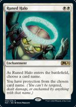 ルーンの光輪/Runed Halo(M21)【英語FOIL】
