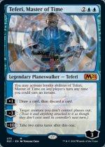 時の支配者、テフェリー/Teferi, Master of Time(M21)【英語FOIL】(275)