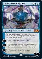 時の支配者、テフェリー/Teferi, Master of Time(M21)【英語】(276)