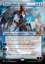 時の支配者、テフェリー/Teferi, Master of Time(M21)【英語】(拡張アート)