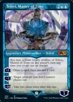 時の支配者、テフェリー/Teferi, Master of Time(M21)【英語】(ショーケース)(292)