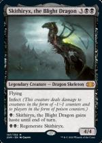 荒廃のドラゴン、スキジリクス/Skithiryx, the Blight Dragon(2XM)【英語FOIL】