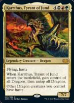 ジャンドの暴君、カーサス/Karrthus, Tyrant of Jund(2XM)【英語FOIL】