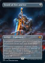 火と氷の剣/Sword of Fire and Ice(2XM)【英語FOIL】(拡張アート)