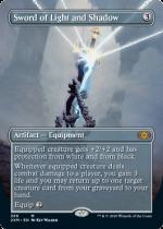 光と影の剣/Sword of Light and Shadow(2XM)【英語FOIL】(拡張アート)