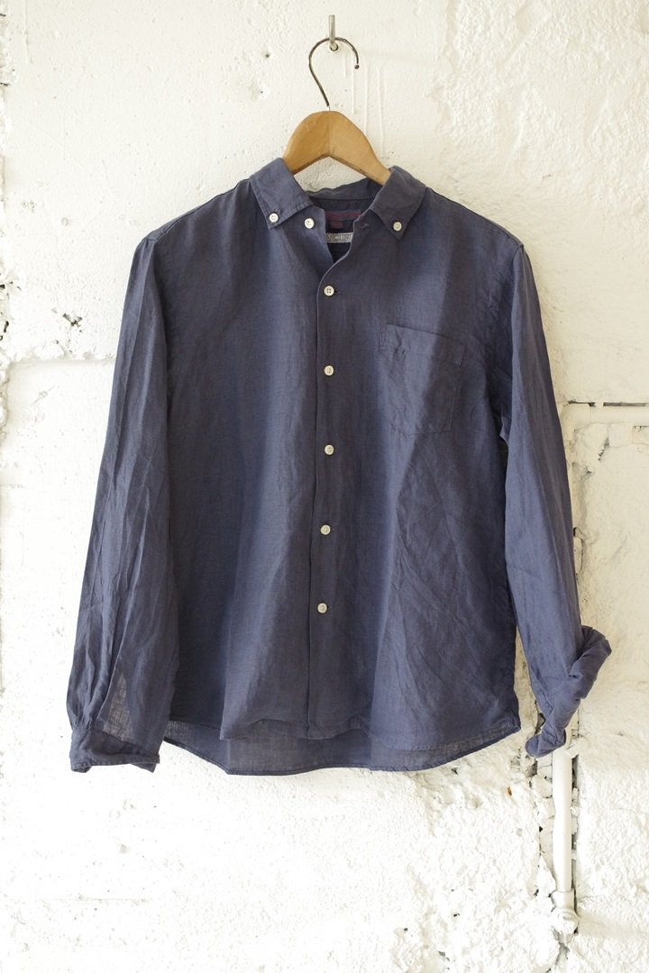 SUNSHINE+CLOUD LOD-NW-LS NEW WEST [NAVY]