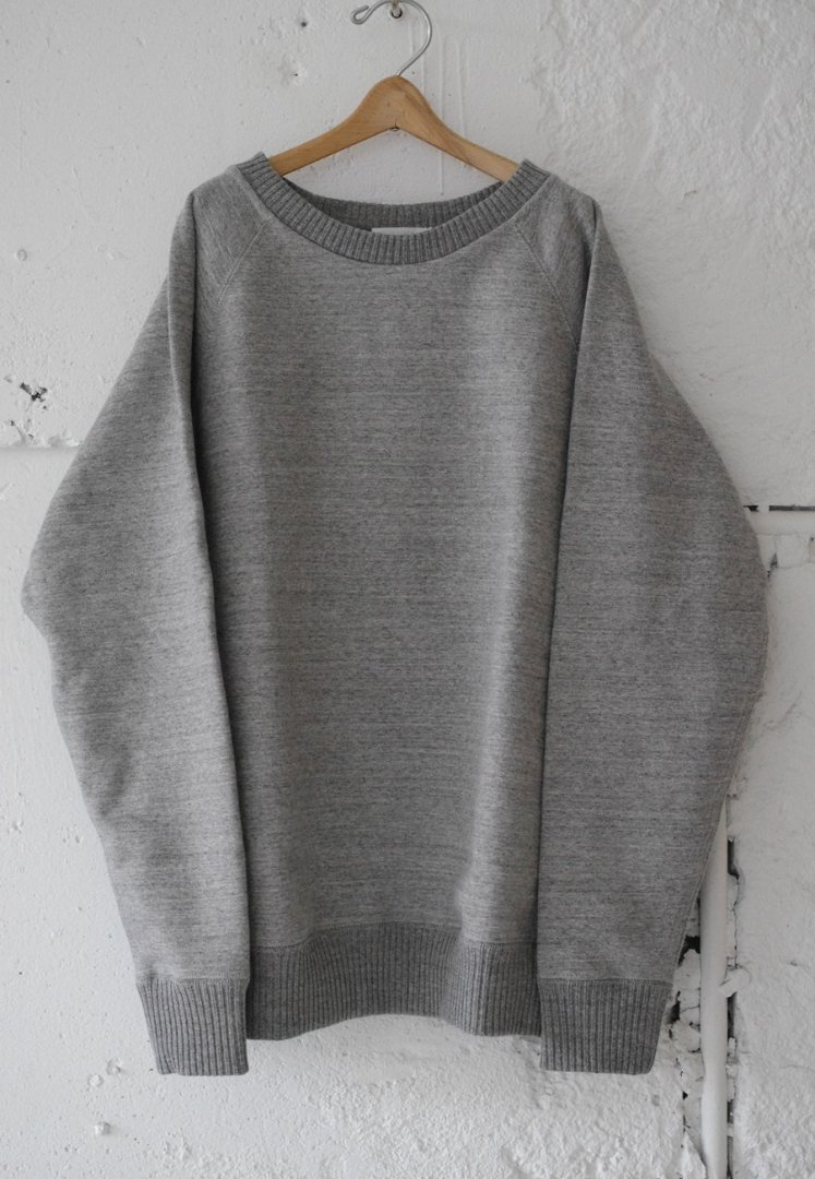 NANAMICA SUHF841 CREW NECK SWEAT [MIX GREY]