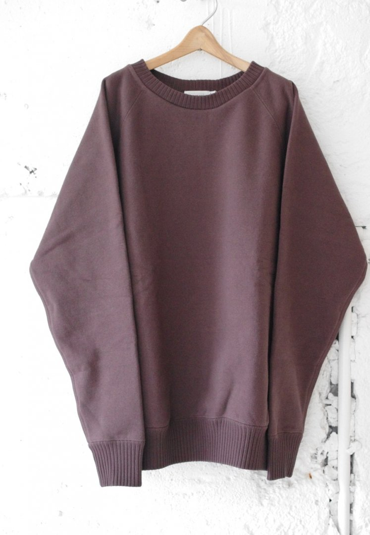 NANAMICA SUHF841 CREW NECK SWEAT [BROWN]