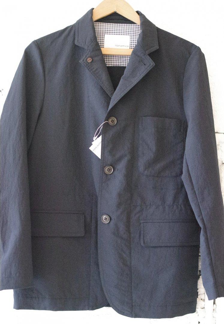 NANAMICA SUAS918 ALPHADRY club jacket [NAVY]