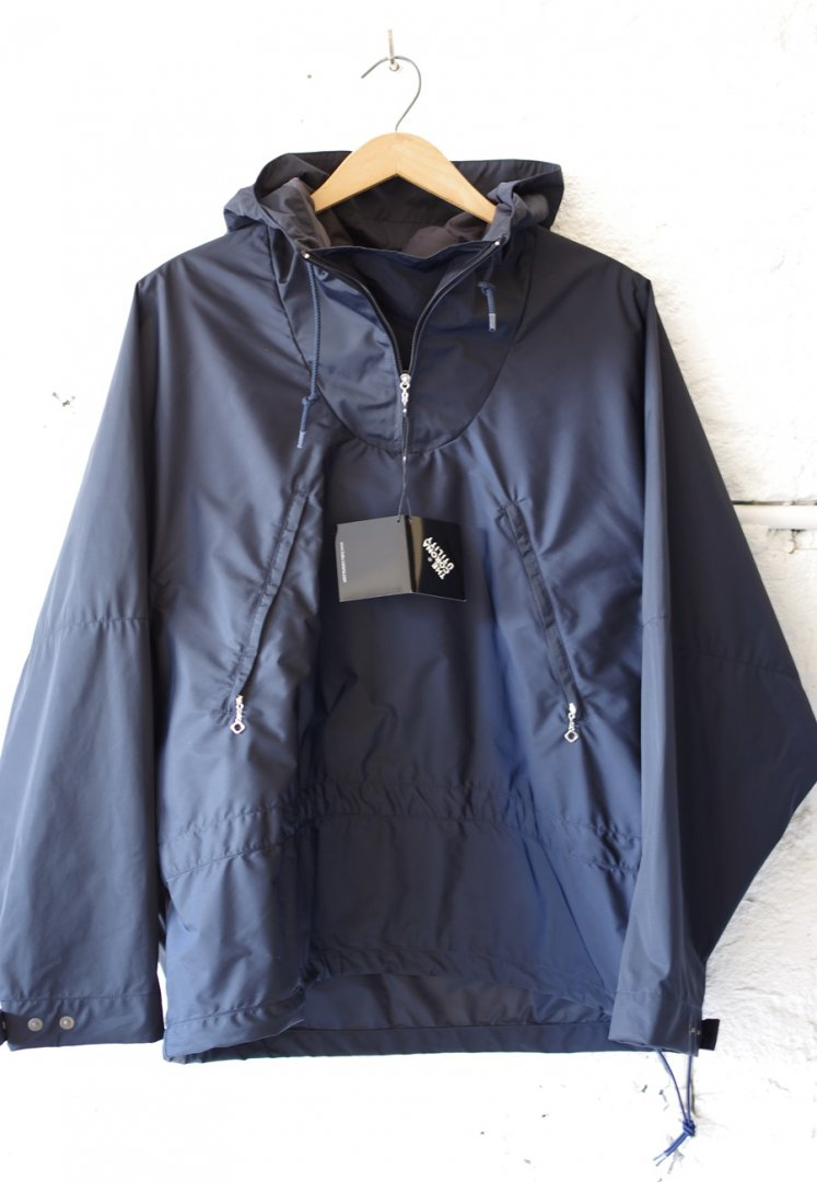 CORONA CJ036 SIMPLE ANORACK 20-03 [HIGH DENSITY NAYLON TAFFTA/NAVY]