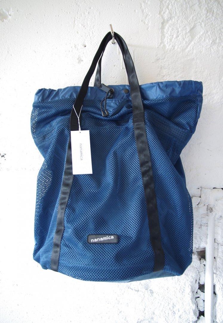 NANAMICA SUOS048 nanamican packable mesh tote[NAVY]