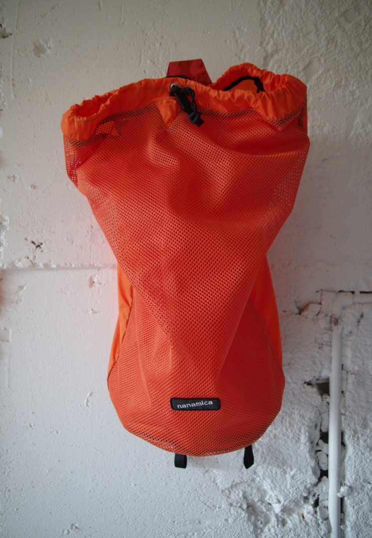 NANAMICA SUOS047 nanamican packable mesh day pack[ORANGE]