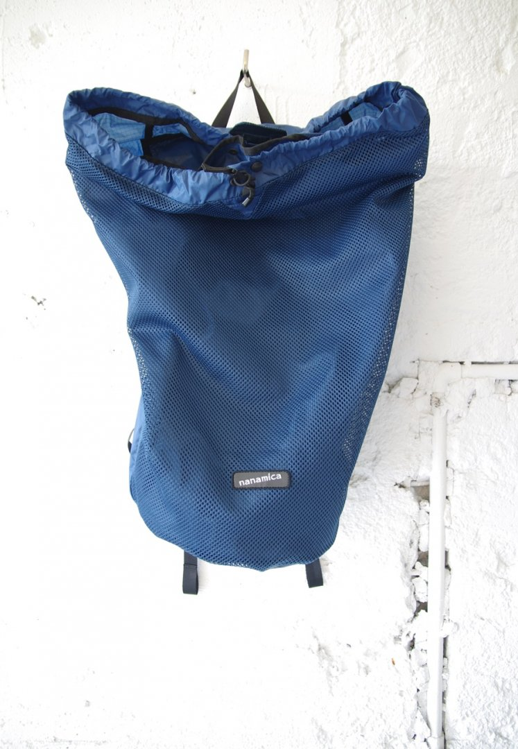 NANAMICA SUOS047 nanamican packable mesh day pack[NAVY]