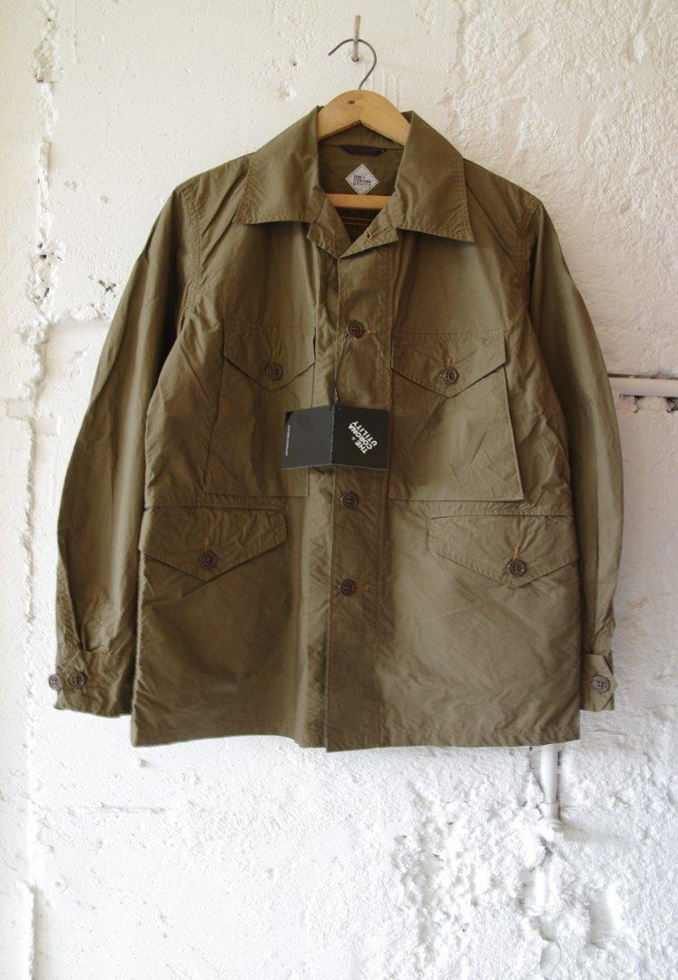 CORONA CS006 T-54 JAC SHIRT 20-02[TYPEWRITER CLOTH/DARK KHAKI]